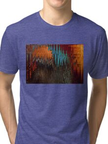 Navajo Waves Tri-blend T-Shirt