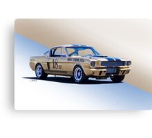 1966 Shelby Mustang GT350 Production GT Canvas Print