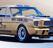 1966 Shelby Mustang GT350 Production GT Sticker