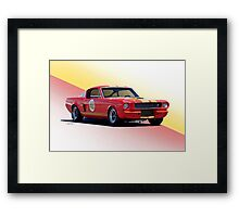 1966 Shelby Mustang GT350 Production GT Framed Print