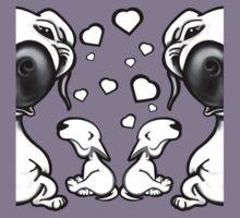 Loving Bull Terriers Kids Tee