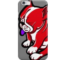 Bull Terrier Red And White  iPhone Case/Skin