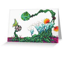 Swamp Tree Greeting Card