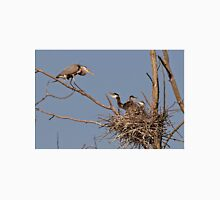 Great Blue Heron And Chicks T-Shirt
