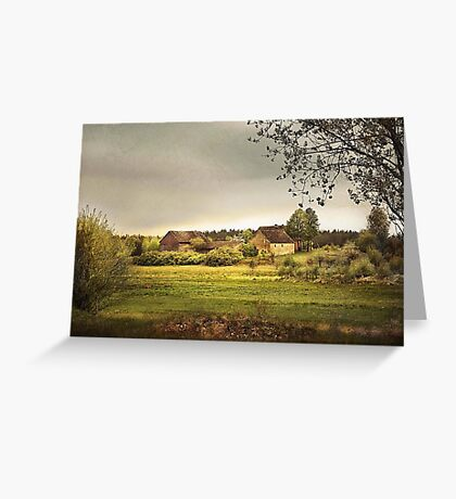 In The Countryside Greeting Card