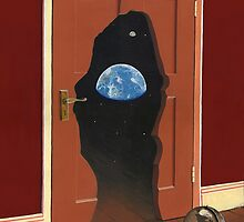 Beyond Magritte's Door by Mark A. Garlick
