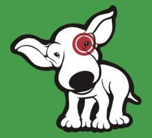 EBT Target Eye Patch Puppy One Piece - Short Sleeve