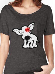 EBT Target Eye Patch Puppy Women's Relaxed Fit T-Shirt