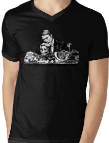 Eat the rude Hannibal Mens V-Neck T-Shirt