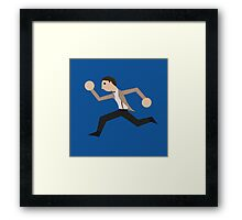 Run, Eleventh Doctor, Run! Framed Print