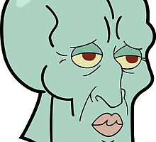 Handsome Squidward by Wagapiggy