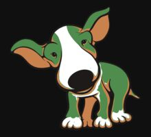 Irish Bull Terrier Puppy  Kids Tee