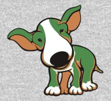 Irish Bull Terrier Puppy  One Piece - Short Sleeve