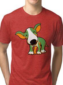 Irish Bull Terrier Puppy  Tri-blend T-Shirt