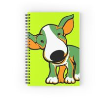Irish Bull Terrier Puppy  Spiral Notebook