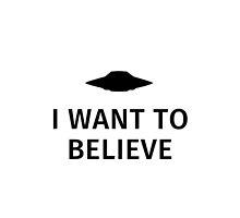 I want to believe by fabianb