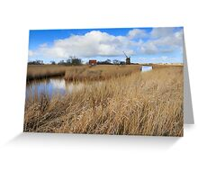 Brograve mill windpump Greeting Card