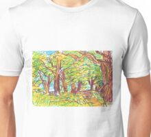 PATH IN PARK Unisex T-Shirt