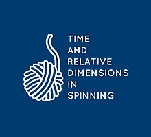 Time And Relative Dimensions in Spinning / White by goldleaves