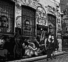 Graffiti Girls by Dianne English