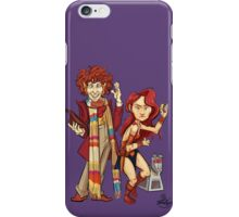 The Doctor, The Warrior, and K-9 iPhone Case/Skin