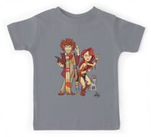 The Doctor, The Warrior, and K-9 Kids Tee