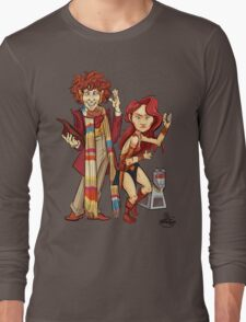 The Doctor, The Warrior, and K-9 Long Sleeve T-Shirt