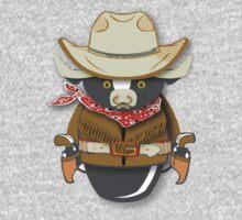 Workobeez COWBOY!! One Piece - Long Sleeve