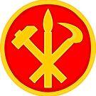 Workers Party of Korea emblem symbol by SofiaYoushi