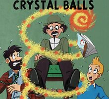 Tintin and the Seven Crystal Balls fan cover by Hopefulhotaru