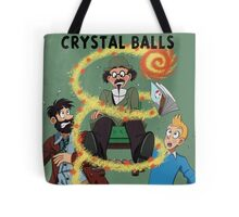 Tintin and the Seven Crystal Balls fan cover Tote Bag
