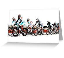 Giro d'Italia 2010 Greeting Card