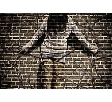 You're just another brick in the wall Photographic Print