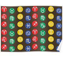 Zodiac Element Symbol  Poster