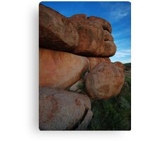 lumps Canvas Print