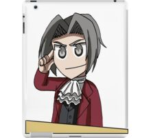 Use your brain, Wright iPad Case/Skin