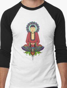 Electric Buddha Men's Baseball ¾ T-Shirt