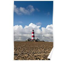 Happisburgh Lighthouse uk Poster