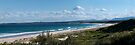 Cudmirrah Surf Beach...Panorama by Les Boucher