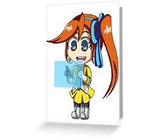Athena and Widget Greeting Card
