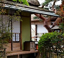 Tea Houses at Nagaoka Tenmangu by nekineko