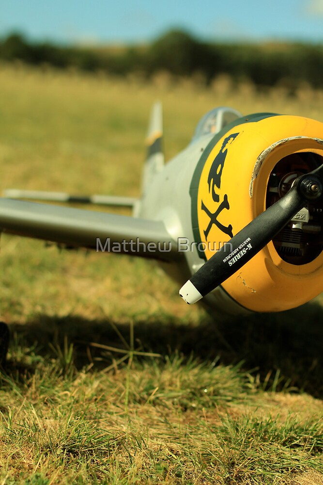 Waiting For Flight Approval - Wagga Model Aero Club by Matthew Brown