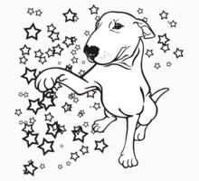 English Bull Terrier Giving a Paw One Piece - Long Sleeve