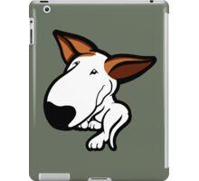 Ginger Ears English Bull Terrier Puppy iPad Case/Skin
