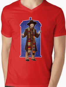The Doctor - No. 4 Mens V-Neck T-Shirt