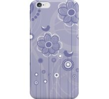 Floral Decor Colorful Vector Illustration iPhone Case/Skin