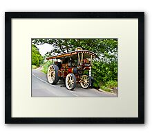 Steam Traction Engine #1 Framed Print