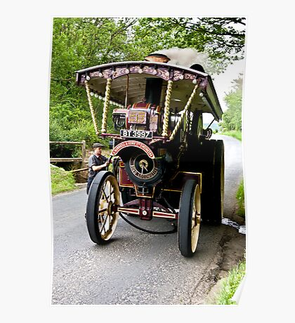 Steam Traction Engine #2 Poster