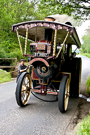 Steam Traction Engine #2 by Trevor Kersley