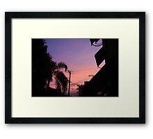 Pinks & Purples Framed Print